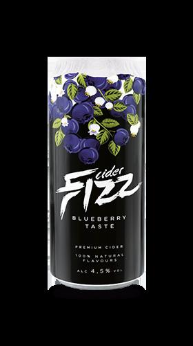 Fizz - mėlynių skonio