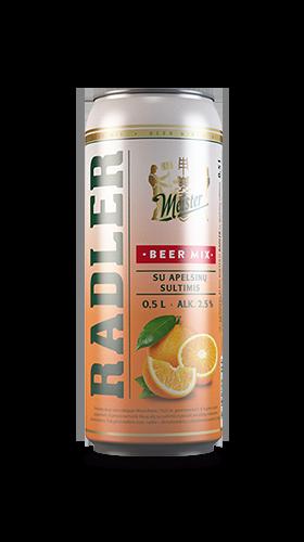 Meister Radler - Orange taste
