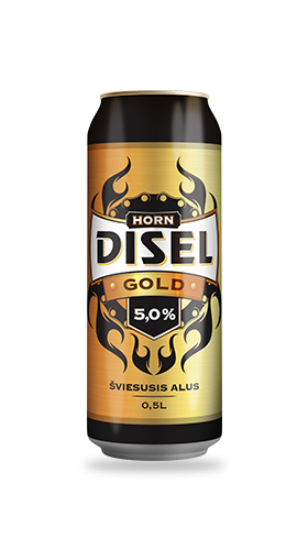 HORN DISEL - GOLD