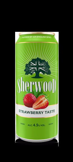 Sherwood - Braškių skonio