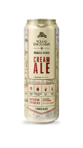 Flavours of the world - Cream Ale