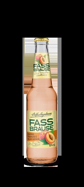 Persikų skonio Fassbrause