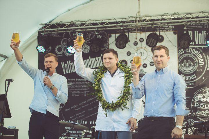 """""""Volfas Engelman"""" kauniečiams ir miesto svečiams padovanojo šventę - pirmą kartą paminėta aludarių diena"""