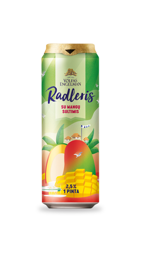 RADLER WITH MANGO JUICE