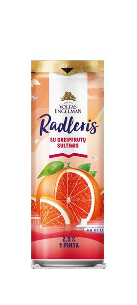 RADLERIS SU GREIPFRUTŲ SULTIMIS