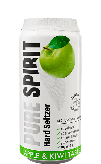 PURE SPIRIT HARD SELTZER