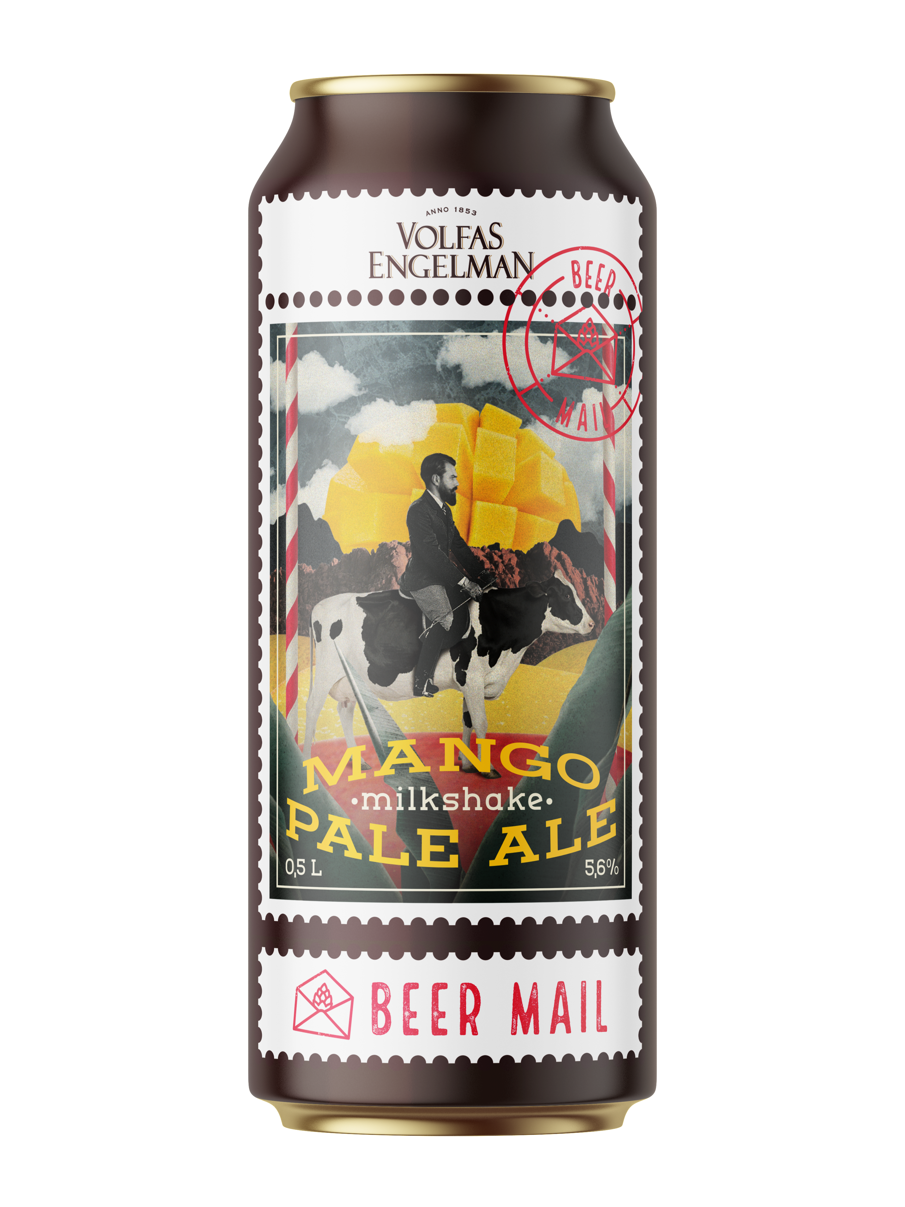 "Beer Of Special Technology ""Mango Milkshake"""