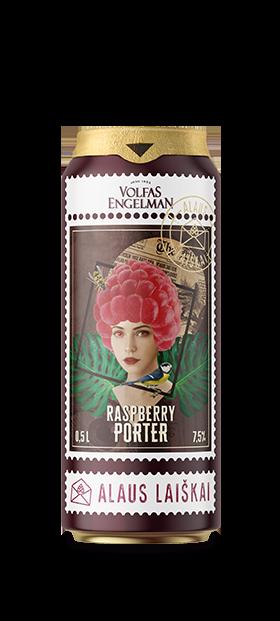 Volfas Engelman ALAUS LAIŠKAI Raspberry Porter
